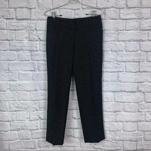 The Limited Cassidy Fit Ankle Crop Pant 0 Tweed